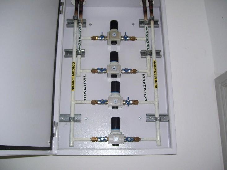 Instalación de gases medicinales LBC