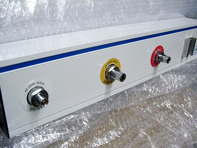 Panel miniducto de gases medicinales con acople boca terminal diss LBC
